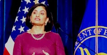 Photo of Seema Verma at CMS event