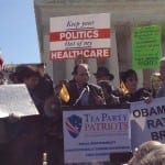 The Tea Party Patriots held a news conference