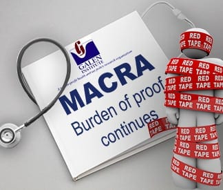 MACRA: Burden of Proof Continues
